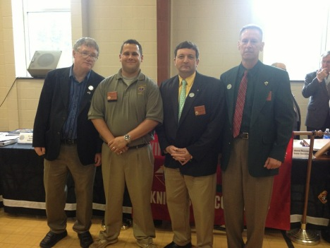 Council 3548 Officers at first Va KOC meeting